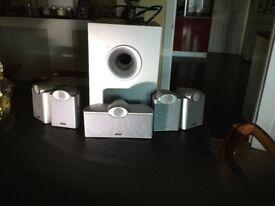 Tannoy EF X 5,1 surround sound system