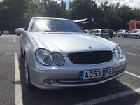 Offers over 2000 invited for this great Motor Mercedes CLK 270 Avantegarde FSH 1YR MOT