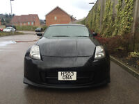 2003 03 - NISSAN 350Z GT SPEC 3.5 V6 AUTOMATIC IN BLACK FULLY MODIFIED