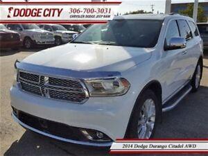 2014 Dodge Durango Citadel   AWD   PST Paid - DVD, Heated Seats