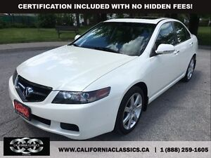 2005 Acura TSX LEATHER SUNROOF 4CYL!