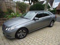 IMMACULATE Mercedes E220 CDi BlueEfficiency SE Auto,2013(62),42k,FMSH