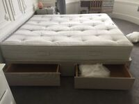 6ft Super King Matress & Divan Bed + Free Duvet Sets