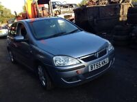 2005 Vauxhall Corsa C 1.2 16v SXi 80 5dr silver lightning z 163 BREAKING FOR SPARES
