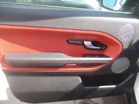 Land Rover RANGE ROVER EVOQUE Dynamic SD,2179 cc 3 door hatchback,red/black sports interior,FSH