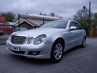 2007 PLATE Mercedes Benz E220 E-Class 2.1 Diesel CDI Automatic New Black Leather Saloon 4 Door