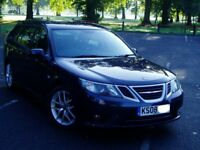 2008 Saab 9-3 Vector Sport Estate 1.9Tid. 83000 Miles. Full Service History. Mot March 2018. 6 Speed