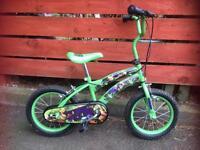 """Ninja Turtles 12"""" bike"""