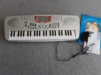 Keyboard used twice, ideal beginner