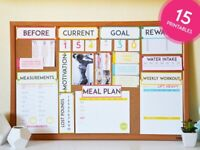 VISION BOARD WORKSHOP FOR WEIGHT GAIN / LOSS IN 2021