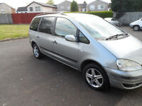 FORD GALAXY LX 7 SEATER 02 PLATE 2002 MOT EXPIRED