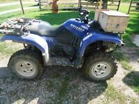 2006 Yamaha Grizzly 660 ATV