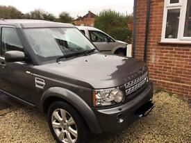 Land Rover HSE4 still under warranty