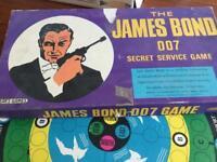 James Bond game vintage