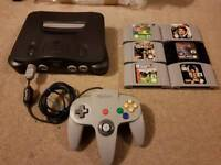 Nintendo 64 with games (N64)