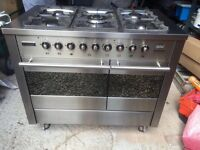 Tecnik freestanding range dual oven part of Magnet kitchen