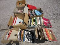 JOB LOT OF OVER 350 x LPS VINTAGE RECORDS ETC BOXSETS SOME LOOK UNPLAYED