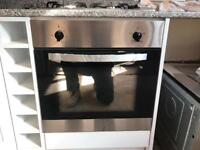 Oven hob and extractor