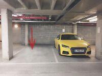 Garage for motorbike (shared)