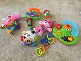 Like new selection of toys