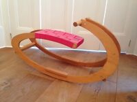 Sirch Sibi Olga birch wood handmade award winning rocker. Excellent condition Cost £105