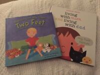 2 Books for Children on the topic of seperation or divorce