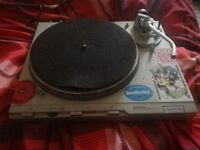 Technics SL D2 turntable record player.