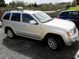 2007 JEEP GRAND CHEROKEE OVERLAND 3.0 CRD V6 AUTOMATIC TOP OF THE RANGE 4X4 SIMILAR TO MERC ML,DVD