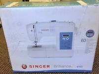 Singer sewing machine (digital) excellent condition