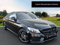 Mercedes-Benz C Class C 200 AMG LINE (black) 2016-09-15