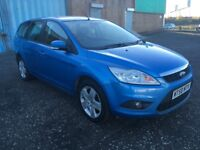 2009 Ford FOCUS 1.6 Estate , mot - November 2018 , service history ,scenic,astra,golf,civic,megane