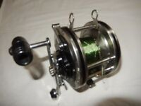 Heavy duty Boat reel - Japanese £30 ovno For Shark and Conger fishing