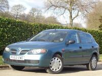 Nissan Almera 1.8 S 5dr AUTOMATIC+ONLY 38K MILES+++++