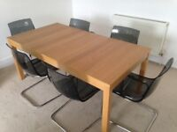Extendable DINING TABLE 180/220/260 cm