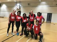 January Back to Netball Sessions