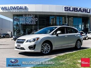 2014 Subaru Impreza 2.0i Touring PKG No Accidents, One Owner, Of