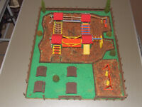 Home Made Model Playground/Picnic Area - Ideal for Model Railway Layout Enthusiast .. **FREE**
