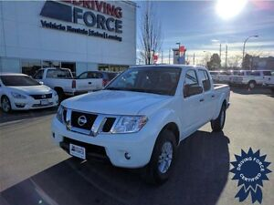 2015 Nissan Frontier SV 4WD Crew Cab, 4.0L V6, Seats 5 People