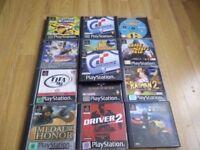Playstation 1 Games x 12