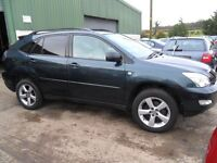 lexus rx 300 auto jeep 2005 in great condition full years mot