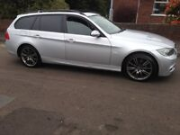 BMW touring 320d 2006 long mot m sport rep // cash sell May Px swap Honda Audi wrx 4x4 530d x5 rwd