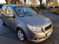 2010 CHEVROLET AVEO 1.2 TAX AND TESTED IDEAL FIRST CAR