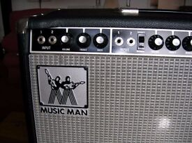"Musicman 115-'sixty five' combo with JBL K130 15"" speaker."