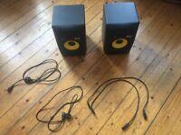 KRK Rokit 8 G2 Speakers (PAIR WITH CABLES)