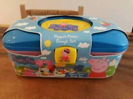 Peppa's picnic dough set - NEW