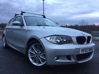 2007 BMW 120D M SPORT 177BHP FULL SERVICE HISTORY+2 OWNERS