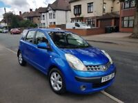 2006 NISSAN NOTE 1.4 LTRS PETROL MANUAL £748 NO OFFERS NO SWAP CALL 07404029829 NO TEXT