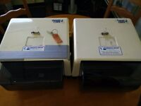 Reusable hand towel machines (2) - FREE to collector