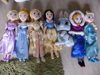 Disneystore plush doll set