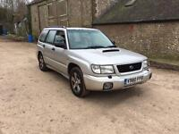 Subaru Forester s turbo manual four wheel drive